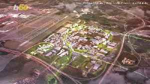 News video: This Futuristic Sustainable Airport Will Build a 'City' of Driverless Cars