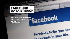 News video: Facebook loses $40bn in share value over user data scandal