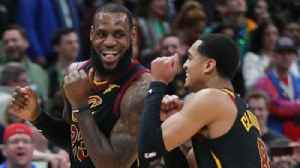 News video: Cavs Cruise: Nick Wright reacts to LeBron's 40-point triple-double in Cleveland's win over the Bucks