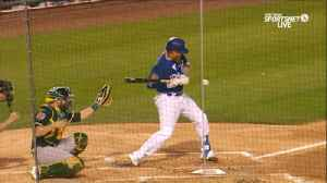 News video: Dodgers' Justin Turner has broken wrist after being hit by pitch