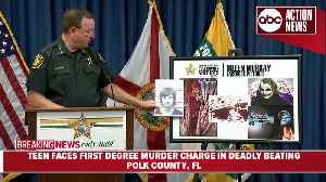 News video: Teen faces first degree murder charge in deadly beating   Press Conference