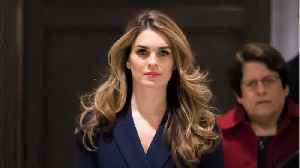 News video: Hope Hicks' Detailed Journal Draws Attention From Lawyers And Ethics Experts