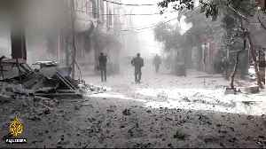 News video: Syria's besieged Ghouta: UN warns of 'catastrophic' crisis