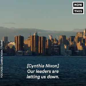 News video: Cynthia Nixon of 'Sex and the City' Is Running for Governor