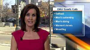 News video: Eastern Michigan eliminating four sports programs due to budget cuts