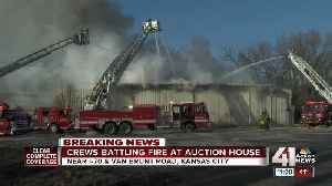 News video: Fire crews respond to building fire in east KC