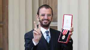 News video: Beatles Drummer Ringo Starr Knighted at Buckingham Palace