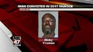 News video: Man convicted in 2017 Lansing murder