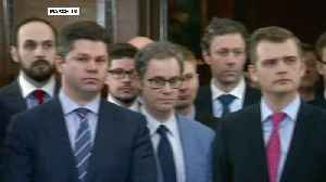 News video: Russian diplomats leave UK over spy poisoning dispute