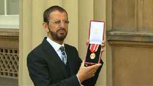 News video: Arise Sir Richard Starkey