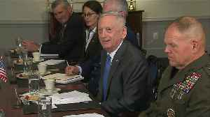 News video: Mattis 'not in the least' surprised by Russian election results