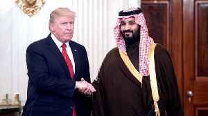 News video: Analysis: 'Trump was trying to sell visitng Saudi crown prince to American public'