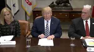 News video: Trump Hosts Roundtable On Sanctuary Cities
