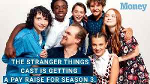 News video: The Stranger Things Cast is Getting a Pay Raise
