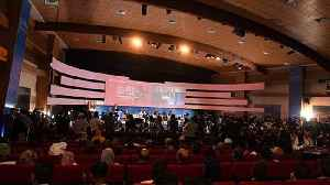 News video: African leaders debate economic, social and environmental development at Crans Montana Forum