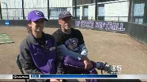 News video: NCAA Softball Rarity: Daughter Hires Father At San Francisco State