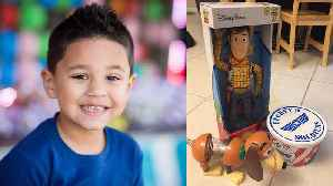 News video: Disney Staff Give Lost Toy Fun Adventure Before Returning It To 4-Year-Old Boy