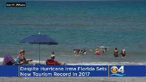 News video: Tourism Numbers Hit New High In 2017