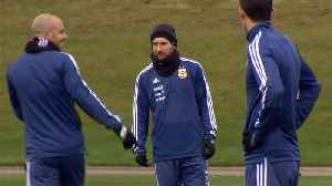News video: Messi joins Argentina ahead of Italy friendly