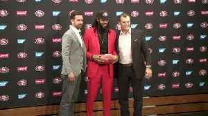 News video: Raw Video: Richard Sherman Introduced As Newest 49er