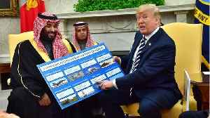 News video: Trump Praises U.S. Military Sales In Talks With Saudi Crown Prince