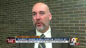 News video: 'Alarming' number of drug overdose deaths in Hamilton County last year