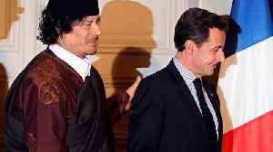 News video: Explained: What we know about the Gaddafi-Sarkozy funding scandal