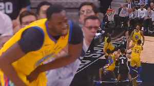 News video: Karma KICKs Draymond Green In the Balls!
