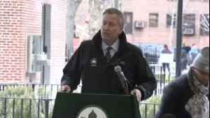 News video: NYC Schools Closed Due To Storm