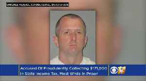News video: Inmate Accused Of Getting Bogus Tax Refunds From Behind Bars