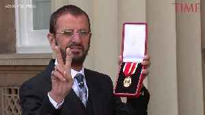News video: Prince William Just Knighted Ringo Starr and He Has the Perfect Plan for His New Medal
