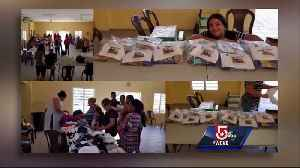 News video: Anonymous donor helps Massachusetts teens send supplies to Puerto Rico
