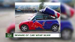 News video: Why you should be wary of car-wrap advertising gigs