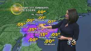 News video: Tuesday Evening Weather Update: Snow, Ice And Everything Not Nice