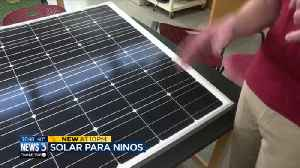 News video: UW students to install solar panels in Puerto Rico