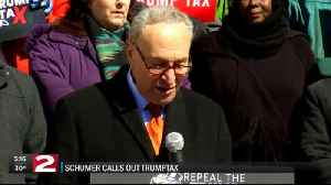 News video: Schumer stops in Syracuse to discuss impact of Trump tax plan