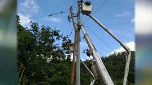News video: Local Lineman returns from Puerto Rico