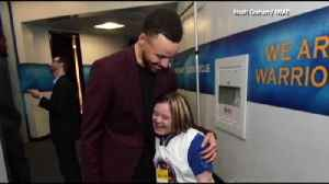 News video: VIDEO: ESU women's bball manager meets Steph Curry