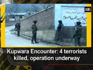 News video: Kupwara Encounter: 4 terrorists killed, operation underway