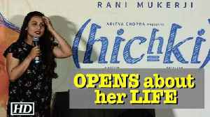 News video: Rani OPENS about her LIFE on her Birthday