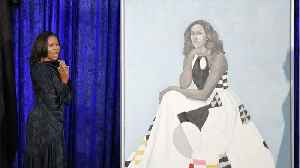 News video: Michelle Obama's Portrait Moved Due To High Volume Of Visitors
