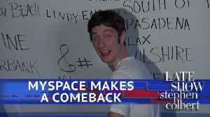 News video: Tom From Myspace Says Leave Facebook