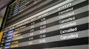 News video: East Coast Airports See 4,500 Flights Cancelled