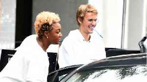 News video: Justin Bieber Spotted With Mystery Blonde: Who Is She?