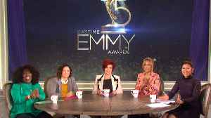 News video: The Talk - 'The Talk' Hosts Announce the 45th Annual Daytime Emmy Awards Nominations - Part 1