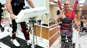 News video: Spinal Injury Patients Use Robotic System to Walk Again