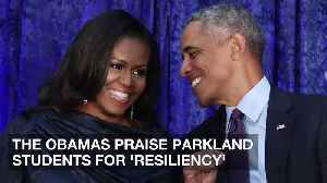 News video: The Obamas Praise Parkland Students for 'Resiliency'