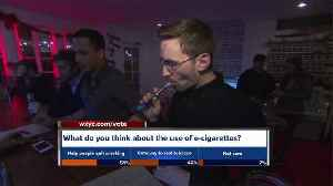 News video: More teens now vaping and using e-cigs