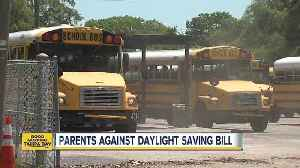 News video: Parents against year-round Daylight Saving Time