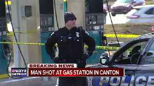 News video: Man shot at Canton gas station; suspected shooter in custody